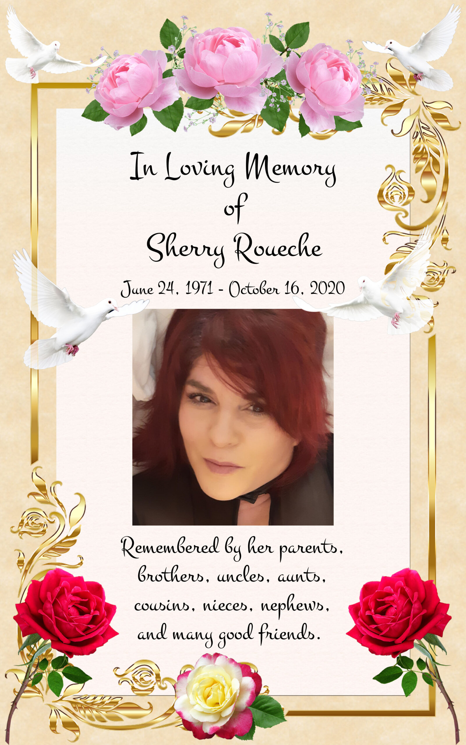 In Memory of Sherry Roueche